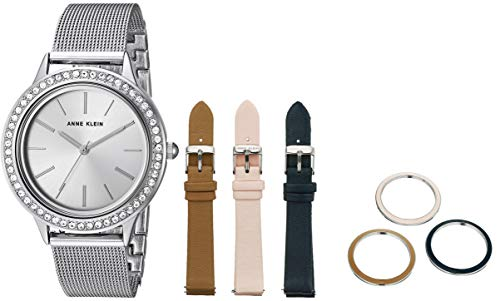 アンクライン 腕時計 レディース 【送料無料】Anne Klein Dress Watch (Model: AK/3419SVST)アンクライン 腕時計 レディース