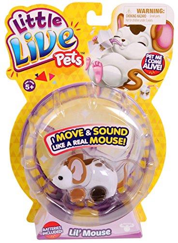 早い者勝ち リトルライブペッツ ぬいぐるみ リアル 動く Lil' ぬいぐるみ 鳴く【送料無料】Little Live Pets Pets Lil' Mouse - Moolindaリトルライブペッツ ぬいぐるみ リアル 動く 鳴く, プリザーブドフラワー花材アミファ:e10fb965 --- promotime.lt