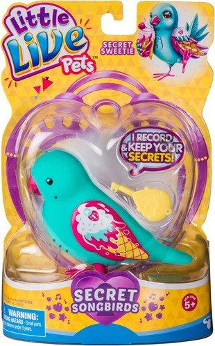 リトルライブペッツ ぬいぐるみ リアル 動く 鳴く 【送料無料】Little Live Pets Bird - Secret Sweetieリトルライブペッツ ぬいぐるみ リアル 動く 鳴く