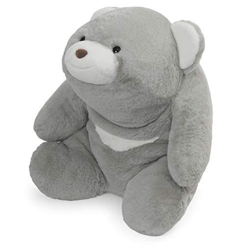 ガンド ぬいぐるみ リアル お世話 かわいい 【送料無料】GUND Snuffles Teddy Bear Stuffed Animal Plush, 18-Inch, Grayガンド ぬいぐるみ リアル お世話 かわいい