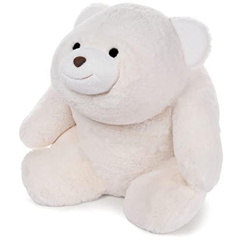 ガンド ぬいぐるみ リアル お世話 かわいい 【送料無料】GUND Snuffles Teddy Bear Stuffed Animal Plush, 18-Inch, Whiteガンド ぬいぐるみ リアル お世話 かわいい