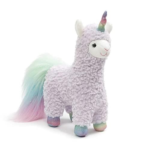 ガンド ぬいぐるみ リアル お世話 かわいい GUND Sugar Plum Llamacorn Plush Stuffed Animal, 11