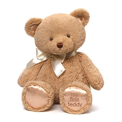 ガンド ぬいぐるみ リアル お世話 かわいい Baby GUND My First Teddy Bear Stuffed Animal Plush, Tan, 18