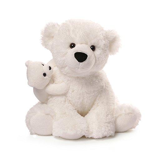 ガンド ぬいぐるみ リアル お世話 かわいい 【送料無料】GUND Polar Bear & Baby Plush, 12