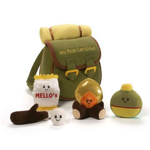 ガンド ぬいぐるみ リアル お世話 かわいい 【送料無料】Baby GUND My First Campout Stuffed Plush Playsetガンド ぬいぐるみ リアル お世話 かわいい
