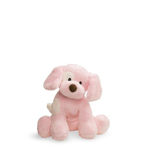ガンド ぬいぐるみ リアル お世話 かわいい Baby GUND Spunky Dog Stuffed Animal Sound Plush, Pink, 8
