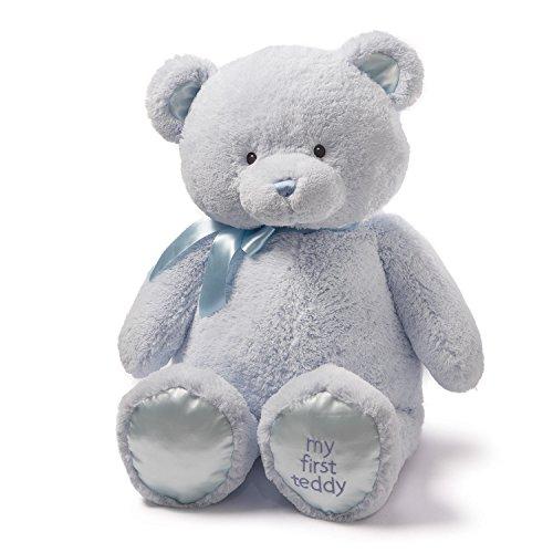 ガンド ぬいぐるみ リアル お世話 かわいい 【送料無料】Baby GUND My First Teddy Bear Jumbo Stuffed Animal Plush, Blue, 36
