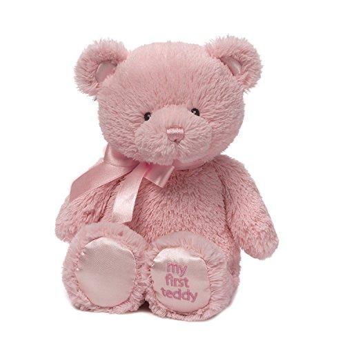 ガンド ぬいぐるみ リアル お世話 かわいい 【送料無料】Baby GUND My First Teddy Bear Stuffed Animal Plush, Pink, 24