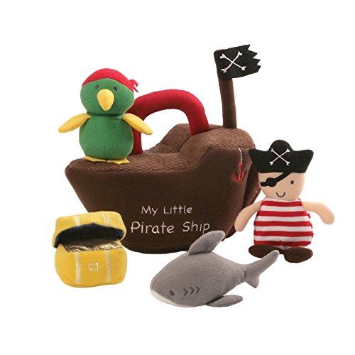 ガンド ぬいぐるみ リアル お世話 かわいい 【送料無料】Gund Pirate Ship Baby Playset Plushガンド ぬいぐるみ リアル お世話 かわいい