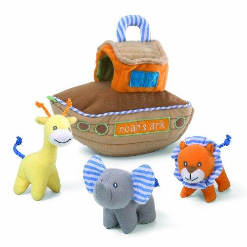ガンド ぬいぐるみ リアル お世話 かわいい 【送料無料】Gund Baby Noah's Ark Eight Inch Playset Multi Part Soft Toyガンド ぬいぐるみ リアル お世話 かわいい