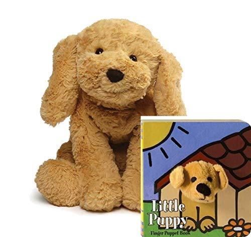 ガンド ぬいぐるみ リアル お世話 かわいい 【送料無料】GUND Cozys Collection Puppy Dog Stuffed Animal Plush Gift Set, Tan, 8