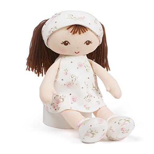ガンド ぬいぐるみ リアル お世話 かわいい 【送料無料】Baby GUND x Little Me Brunette Stuffed Plush Doll Toy, 13
