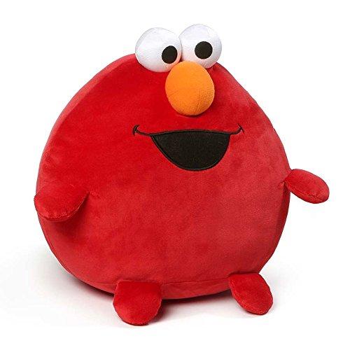 ガンド ぬいぐるみ リアル お世話 かわいい 【送料無料】GUND Sesame Street Egg Friends Elmo Plush Toy, 10