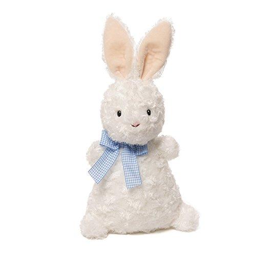 ガンド ぬいぐるみ リアル お世話 かわいい GUND Chex Bunny Plush, 11