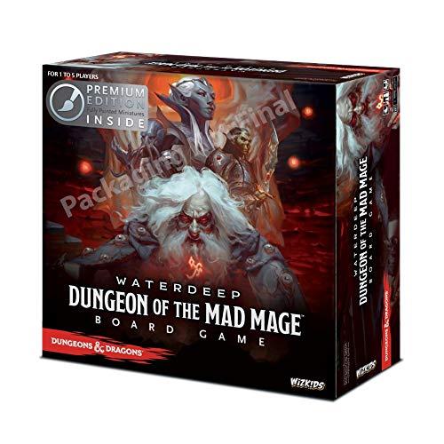 ボードゲーム 英語 アメリカ 海外ゲーム 【送料無料】WizKids 73591 Dungeons and Dragons Waterdeep: Dungeon of The Mad Mage Adventure System Board Toy (Premium Edition)ボードゲーム 英語 アメリカ 海外ゲーム