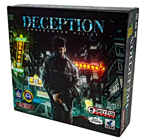 ボードゲーム 英語 アメリカ 海外ゲーム Grey Fox Games Deception: Undercover Allies Board Gameボードゲーム 英語 アメリカ 海外ゲーム