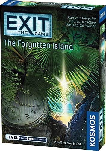 ボードゲーム 英語 アメリカ 海外ゲーム Exit: The Forgotten Island | Exit: The Game - A Kosmos Game | Family-Friendly, Card-Based at-Home Escape Room Experience for 1 to 4 Players, Ages 12+ボードゲーム 英語 アメリカ 海外ゲーム