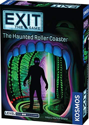 ボードゲーム 英語 アメリカ 海外ゲーム Exit: The Haunted Roller Coaster | Exit: The Game - A Kosmos Game from Thames & Kosmos | Family-Friendly, Card-Based at-Home Escape Room Experience for 1 to 4 Players, Ages 1ボードゲーム 英語 アメリカ 海外ゲーム