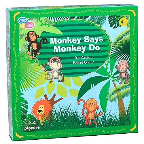 最新作 ボードゲーム of 英語 アメリカ 海外ゲーム【送料無料 アメリカ】Eureka EU-BKBG18435 Do Monkey Say Monkey Do Paper-Based Board Game (Pack of 54)ボードゲーム 英語 アメリカ 海外ゲーム, ミナミウオヌマグン:975307b0 --- kventurepartners.sakura.ne.jp