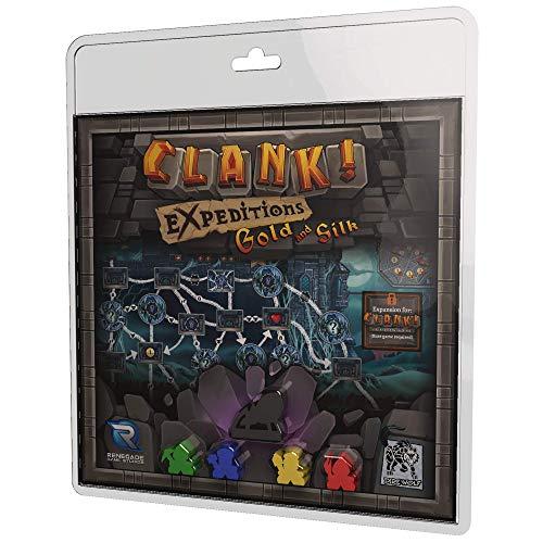ボードゲーム 英語 アメリカ 海外ゲーム Clank! Expeditions: Gold and Silkボードゲーム 英語 アメリカ 海外ゲーム
