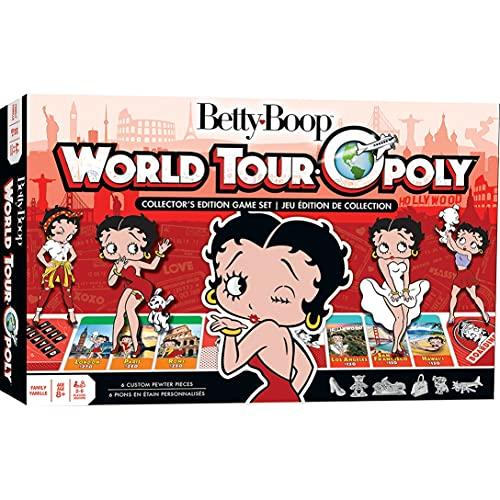 ボードゲーム 英語 アメリカ 海外ゲーム 【送料無料】MasterPieces Betty Boop - Opolyボードゲーム 英語 アメリカ 海外ゲーム