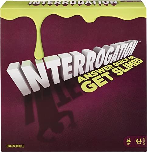 ボードゲーム 英語 アメリカ 海外ゲーム Mattel Games Interrogationボードゲーム 英語 アメリカ 海外ゲーム