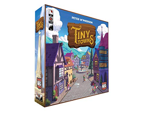 ボードゲーム 英語 アメリカ 海外ゲーム 【送料無料】Tiny Townsボードゲーム 英語 アメリカ 海外ゲーム