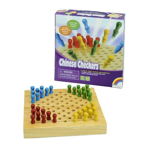 ボードゲーム 英語 アメリカ 海外ゲーム Mini Wood Games, Chinese Checkersボードゲーム 英語 アメリカ 海外ゲーム
