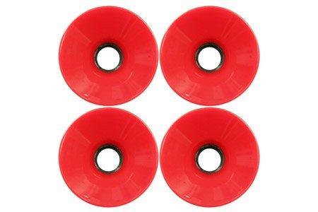 ウィール タイヤ スケボー スケートボード 海外モデル 70mm oldschool Longboard Wheels (Set of 4) red(scs-101015003012)ウィール タイヤ スケボー スケートボード 海外モデル