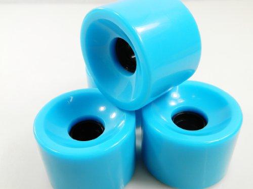ウィール タイヤ スケボー スケートボード 海外モデル 76mm Blank Longboard Skateboard Cruiser Wheels (Baby Blue)ウィール タイヤ スケボー スケートボード 海外モデル