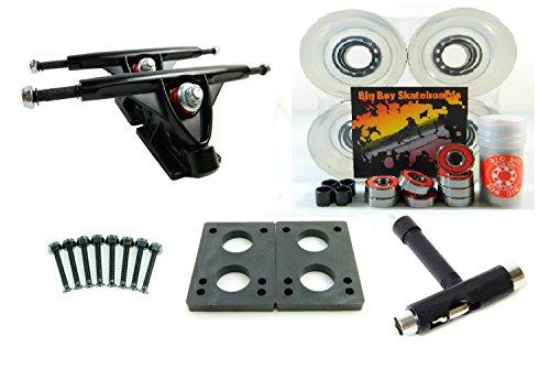 ウィール タイヤ スケボー スケートボード 海外モデル 180mm Trucks + 70mm Wheels + T-Tool Combo (Gel Clear)ウィール タイヤ スケボー スケートボード 海外モデル