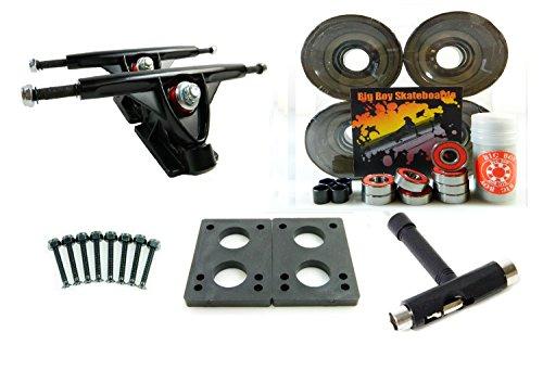 ウィール タイヤ スケボー スケートボード 海外モデル 180mm Trucks + 70mm Wheels + T-Tool Combo (Gel Smoke)ウィール タイヤ スケボー スケートボード 海外モデル