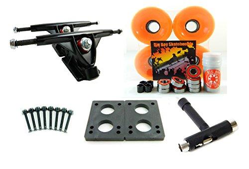 ウィール タイヤ スケボー スケートボード 海外モデル 180mm Trucks + 70mm Wheels + T-Tool Combo (Solid Orange)ウィール タイヤ スケボー スケートボード 海外モデル