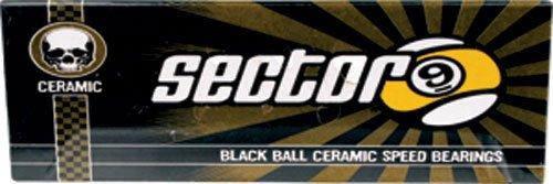 ベアリング スケボー スケートボード 海外モデル 直輸入 1BSEC0XCERCER00 Sector 9 Black Ball Ceramic Race Bearingsベアリング スケボー スケートボード 海外モデル 直輸入 1BSEC0XCERCER00