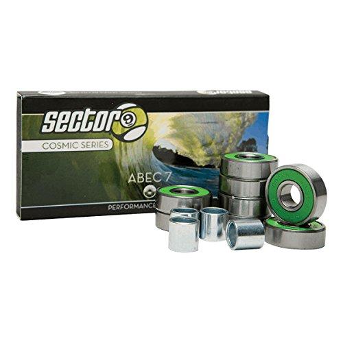 ベアリング スケボー スケートボード 海外モデル 直輸入 Sector 9 Cosmic Series Abec 7 Skateboard Bearings (8 Pack)ベアリング スケボー スケートボード 海外モデル 直輸入
