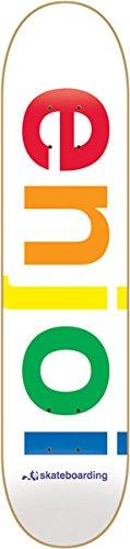 デッキ スケボー スケートボード 海外モデル 直輸入 Enjoi White Spectrum 8.0 Skateboard Deckデッキ スケボー スケートボード 海外モデル 直輸入