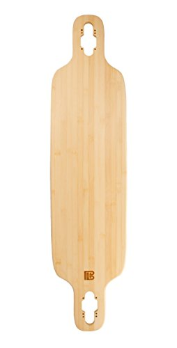 デッキ スケボー スケートボード 海外モデル 直輸入 1-02-001-03-01 Bamboo Skateboards Twin-Tip Drop Through Blank Skateboard Deck, 40