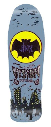デッキ スケボー スケートボード 海外モデル 直輸入 BD0V32-grey Vision Jinx Mini Reissue Skateboard Deck, Grey, 9.5 x 29.5-Inchデッキ スケボー スケートボード 海外モデル 直輸入 BD0V32-grey