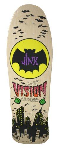 デッキ スケボー スケートボード 海外モデル 直輸入 BD0V32-natural Vision Jinx Mini Reissue Skateboard Deck, Natural, 9.5 x 29.5-Inchデッキ スケボー スケートボード 海外モデル 直輸入 BD0V32-natural