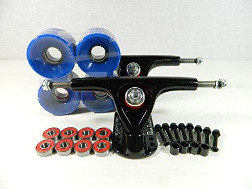 トラック スケボー スケートボード 海外モデル 直輸入 Paris 150mm Trucks Blk/Blk + 70mm Wheels + Bearings Combo (Solid Blue)トラック スケボー スケートボード 海外モデル 直輸入