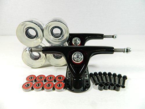トラック スケボー スケートボード 海外モデル 直輸入 Paris 150mm Trucks Blk/Blk + 70mm Wheels + Bearings Combo (Gel Clear)トラック スケボー スケートボード 海外モデル 直輸入