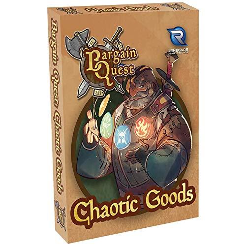 ボードゲーム 英語 アメリカ 海外ゲーム Renegade Game Studios Bargain Quest Chaotic Goodsボードゲーム 英語 アメリカ 海外ゲーム