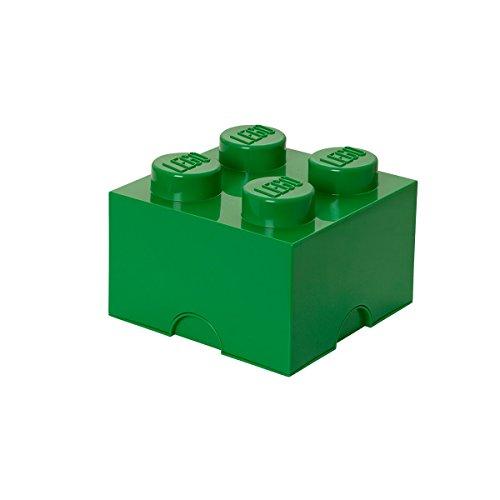 レゴ 【送料無料】Room Copenhagen, Lego Storage Brick Box - Stackable Storage Solution - Brick 4, Dark Greenレゴ