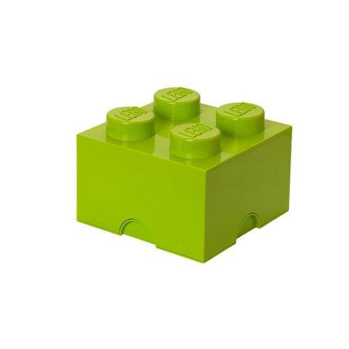 レゴ 【送料無料】LEGO Storage Brick 4, Lime Greenレゴ