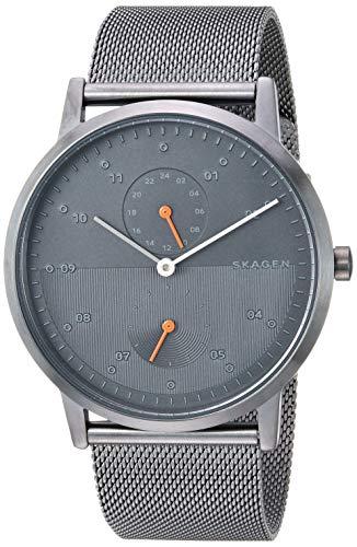 腕時計 スカーゲン メンズ 【送料無料】Skagen Men's Kristoffer Quartz Stainless Steel Mesh Watch Color: Gunmetal, 22 (Model: SKW6501)腕時計 スカーゲン メンズ