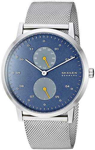 スカーゲン 腕時計 メンズ 【送料無料】Skagen Men's Kristoffer Multifunction Quartz Stainless Steel and Mesh Casual Watch Color: Stainless, Blue (Model: SKW6525)スカーゲン 腕時計 メンズ