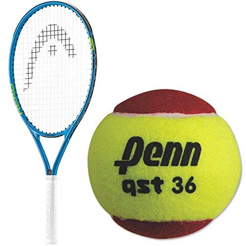 割引購入 テニス ラケット テニス 輸入 アメリカ ヘッド【送料無料】HEAD Penn Speed 21 アメリカ Inch Junior Boy's Tennis Racquet Bundled with a 12 Pack of Penn QST 36 Red Felt Tennis Ballsテニス ラケット 輸入 アメリカ ヘッド, 高田町:a898cff7 --- kventurepartners.sakura.ne.jp