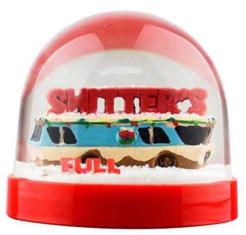 スノーグローブ 雪 置物 インテリア 海外モデル 【送料無料】Funny Christmas Snow Globe Shitter's Fullスノーグローブ 雪 置物 インテリア 海外モデル