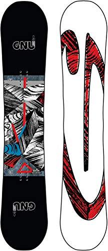 スノーボード ウィンタースポーツ グヌー 2017年モデル2018年モデル多数 【送料無料】Gnu Asym Carbon Credit Snowboard Mens Sz 153cmスノーボード ウィンタースポーツ グヌー 2017年モデル2018年モデル多数