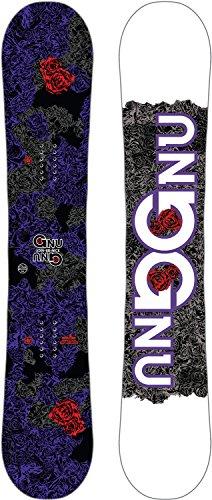 スノーボード ウィンタースポーツ グヌー 2017年モデル2018年モデル多数 【送料無料】Gnu B-Nice Asym Snowboard Dark Womens Sz 142cmスノーボード ウィンタースポーツ グヌー 2017年モデル2018年モデル多数